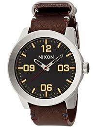 [ニクソン]NIXON CORPORAL: BLACK/BROWN NA243019-00 メンズ 【正規輸入品】