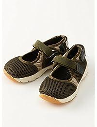 ampersand (アンパサンド) ベビー スニーカー サンダル 赤ちゃん 男の子 女の子 靴 13.5㎝ カーキ 50391