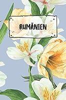 Rumaenien: Liniertes Reisetagebuch Notizbuch oder Reise Notizheft liniert - Reisen Journal fuer Maenner und Frauen mit Linien