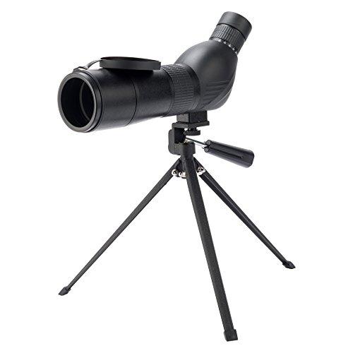 Pinty(ピンティー) フィールドスコープ 単眼望遠鏡 15-45x60 スポッティングスコープ 高倍率 防水 天体観測 野鳥観察 三脚付き