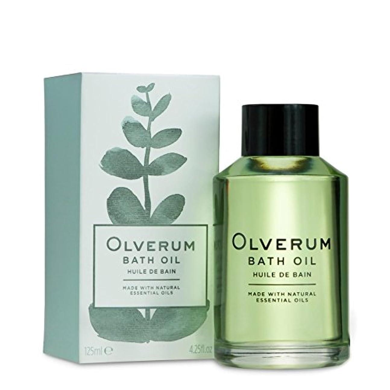 悪名高いちょうつがい埋めるOlverum Bath Oil 125ml - バスオイル125ミリリットル [並行輸入品]