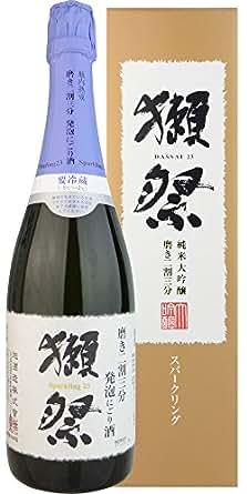 獺祭(だっさい) 発泡にごり酒 磨き二割三分 720ml