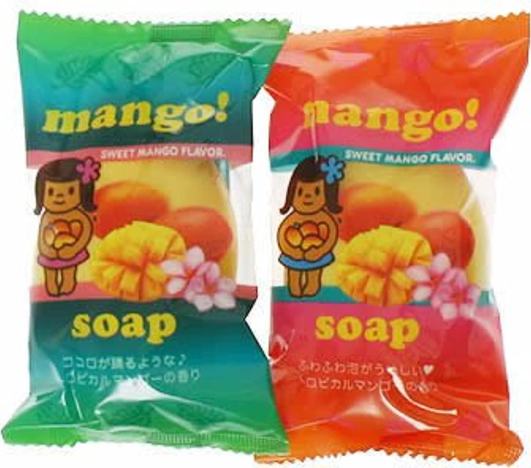 汚染された検索エンジンマーケティング三角形フルーツマーケットソープ マンゴー (70g*2個入)