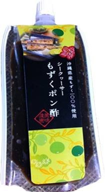 シークヮーサーもずくポン酢 150g×10P シュアナチュラル フコイダンたっぷりの沖縄県産モズクとシークワーサーですっきりと仕上げたジュレぽん酢 モズクのネバネバ旨みをいかした逸品 沖縄土産にも