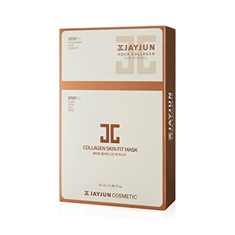 ショップ自体手のひらジェイジュン Collagen Skin Fit Mask 10x(1.5ml+25ml)並行輸入品