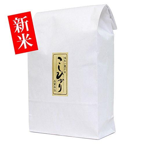 就職内祝いのお返しに【新米・玄米】新潟米コシヒカリ 5kg [新潟産こしひかり]
