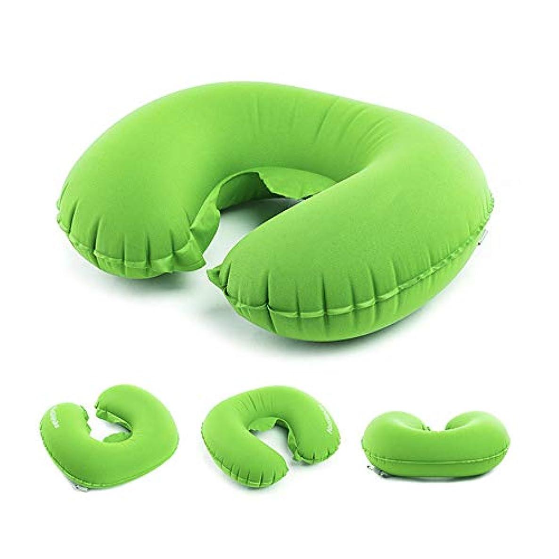 娘消費チェリーLIUSIYUトラベルインフレータブルピロー、ネックピローメモリーフォーム、柔らかくて快適なポータブルインフレータブルトラベルスリーピングピローサポート枕、旅行に最適