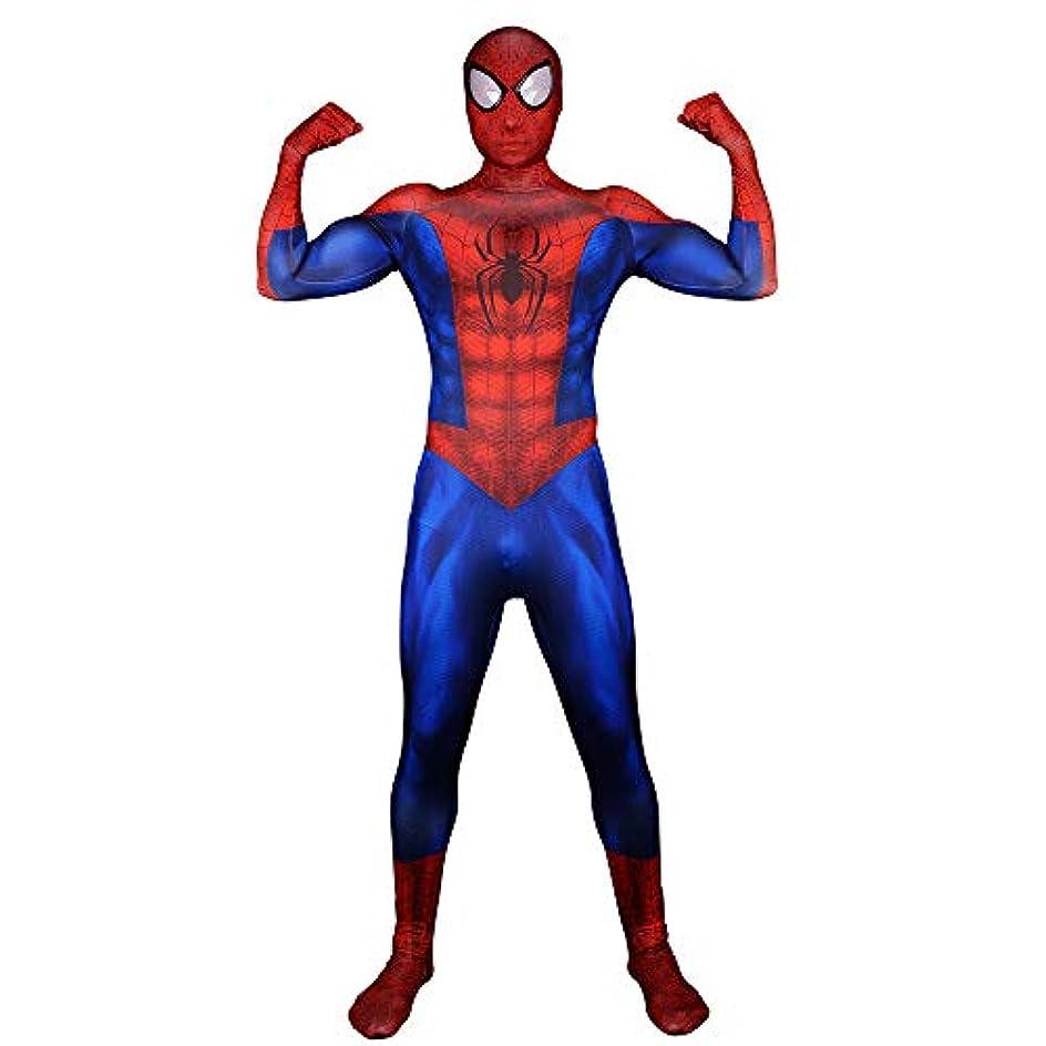 市町村雑品製油所スパイダーマンアルティメットマッスルコスプレタイツ服男の子ヒーローコスチューム,Women-XS