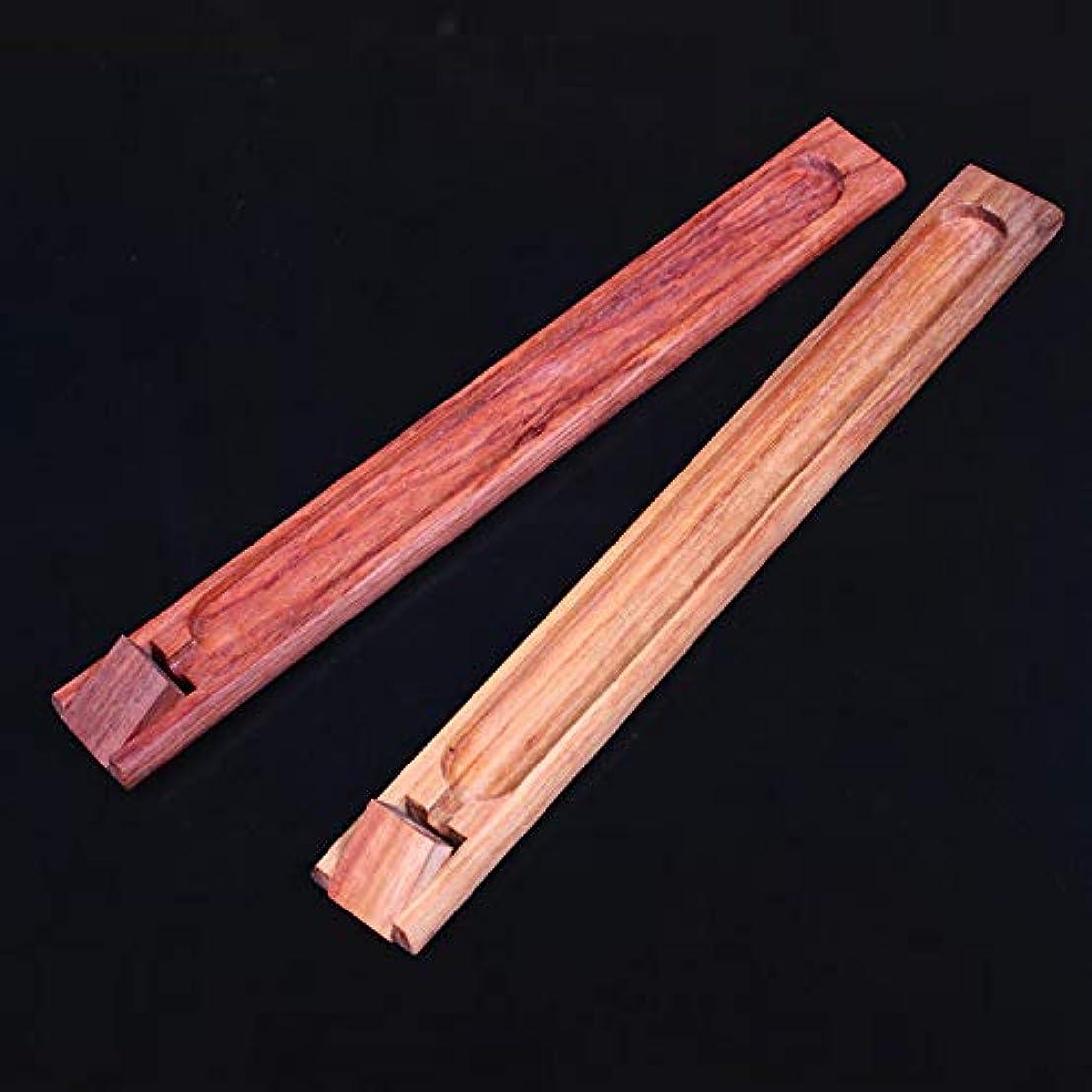 トリム道徳上がるPHILOGOD マホガニー香炉 仏壇用線香立て 手作り香置物 お香 ホルダー (adjustable)