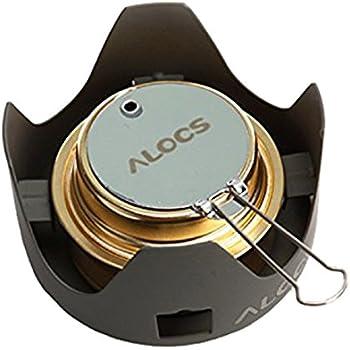 ALOCS(アロクス) アルコールストーブ シングルバーナー 【正規品】 CS-B02