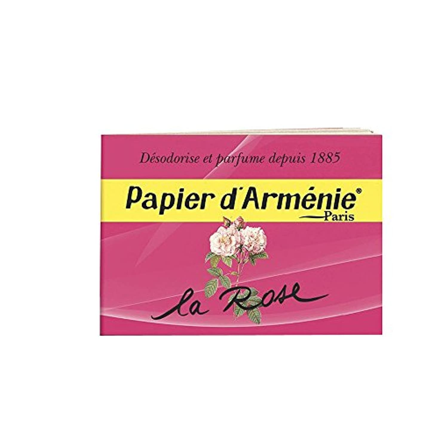 医療の適用するエコーPAPIER D'ARMENIE La Rose (1 carnet)
