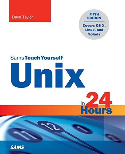 [画像:Unix in 24 Hours, Sams Teach Yourself: Covers OS X, Linux, and Solaris (5th Edition)]