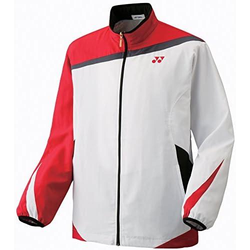 (ヨネックス)YONEX ユニウインドウォーマーシャツ 70044 011 ホワイト M
