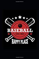 2020 Daily Planner Sports Theme Baseball Happy Place 388 Pages: 2020 Planners Calendars Organizers Datebooks Appointment Books Agendas