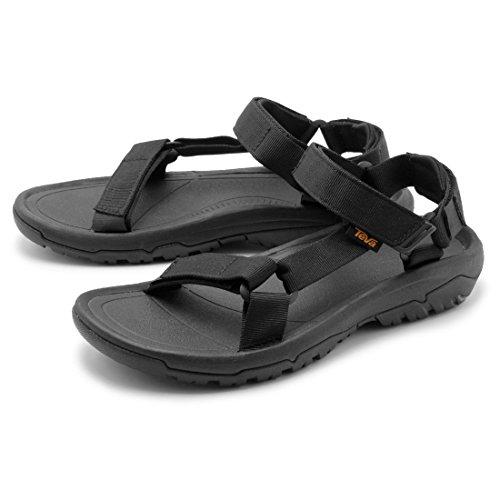 [テバ] サンダル メンズ ハリケーン XLT 2 HURRICANE XLT2 ブラック 1019234-BLK FOOTWEAR Black テヴァ スポーツサンダル 靴 アウトドア ストラップ [並行輸入品]