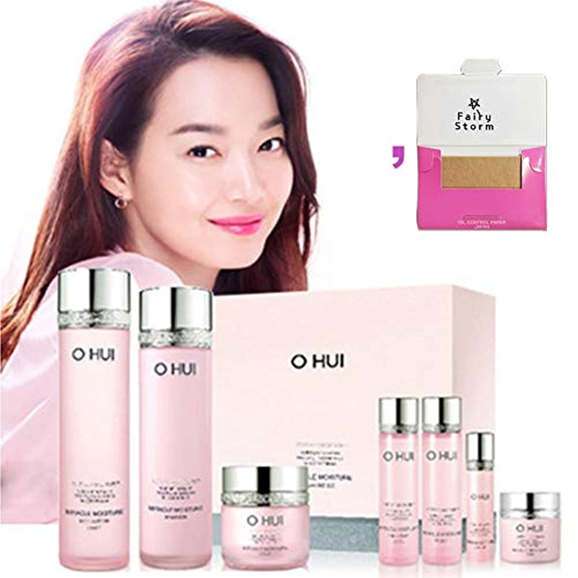 レイアウト愛国的な眠っている[オフィ/O HUI]韓国化粧品LG生活健康/Miracle Moisture three kinds of special set/ミラクルモイスチャー3種のスペシャルセット+[Sample Gift](海外直送品)