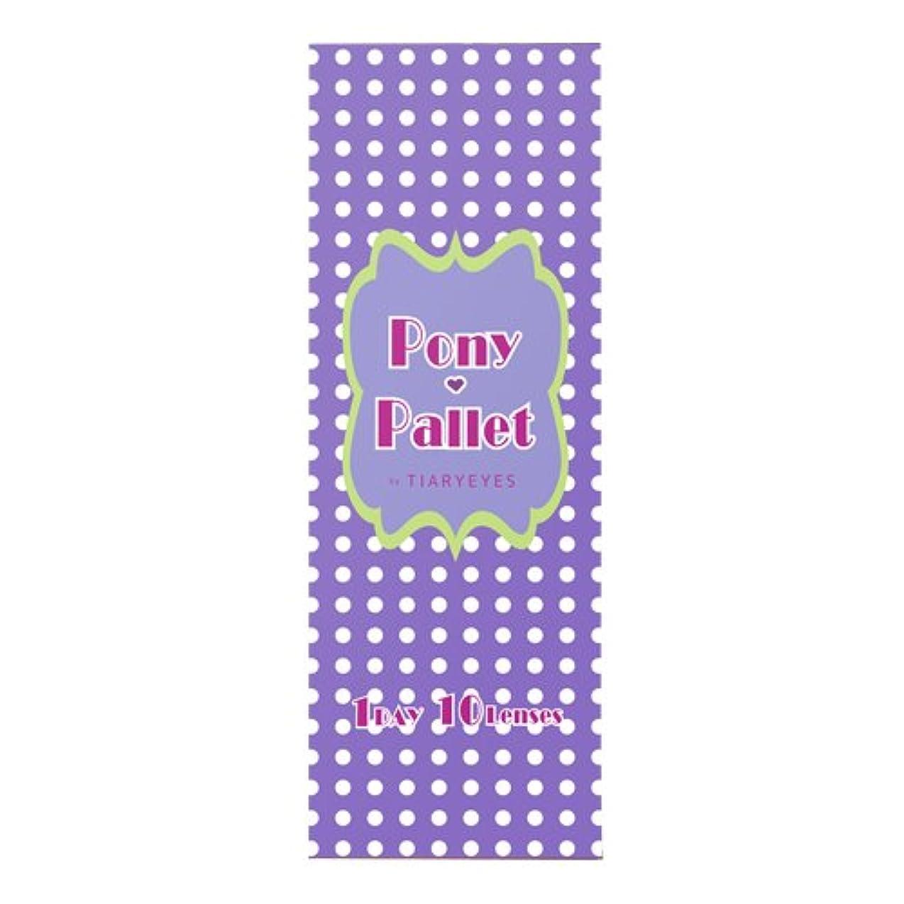 横に矛盾する名声ポニーパレット バイ ティアリーアイズ Pony Pallet by Tiary Eyes 1day 02 Brown 10枚入 (PWR) -2.75