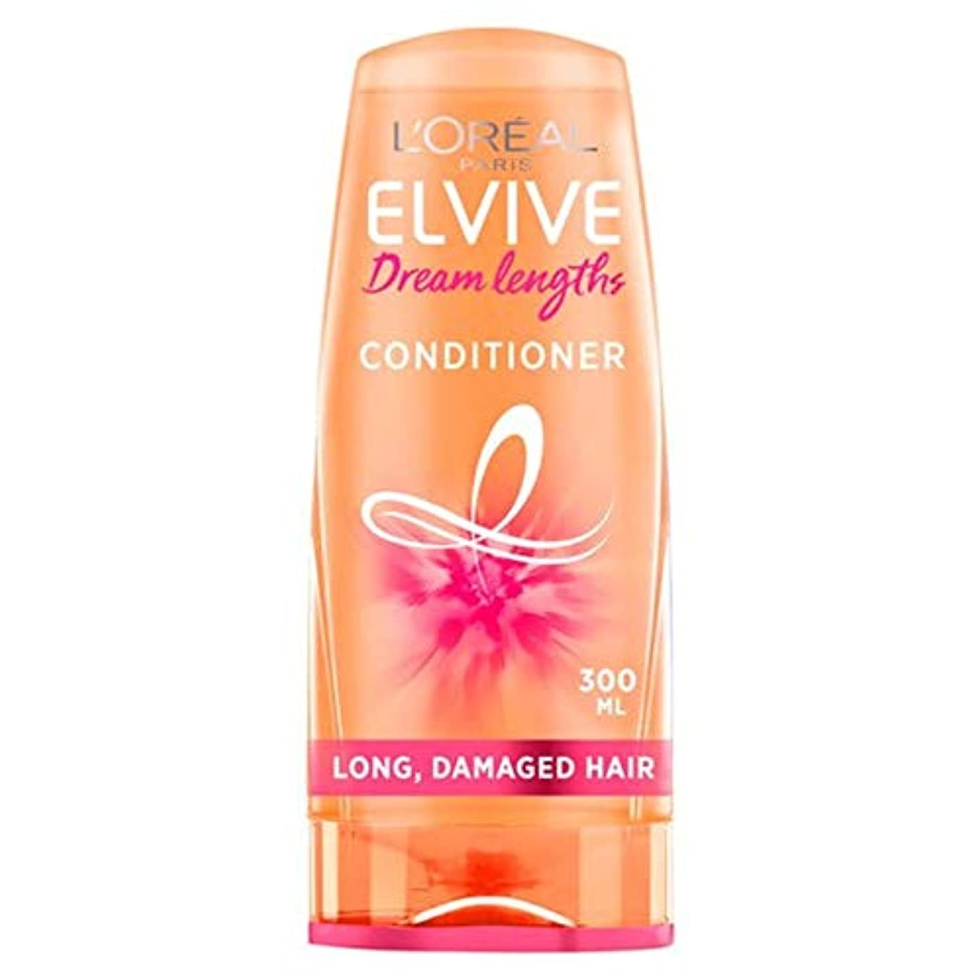 例示する指導するユーモラス[Elvive] ロレアルはElvive長ヘアコンディショナー300ミリリットルの夢 - L'oreal Elvive Dream Lengths Hair Conditioner 300Ml [並行輸入品]