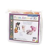 Harrisville Designs Felted Farm Animals Kit