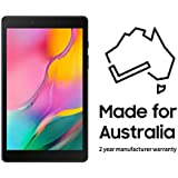 Samsung Galaxy Tab A8.0, 32GB Tablet (Australian Version) with 2 Year Manufacturer Warranty,Black
