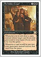 英語版 第6版 Classic Sixth Edition 6ED 禁忌の墓所 Forbidden Crypt マジック・ザ・ギャザリング mtg