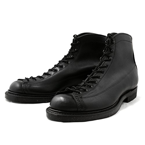 (レッドウィング) RED WING 2995 Lineman Boots WIDE PANEL LACE TO TOE BLACK ラインマン ワークブーツ men's boots US7.5(25.5cm)