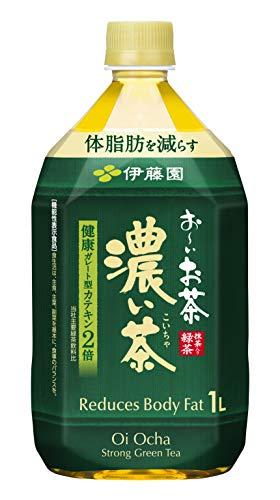 お〜いお茶 濃い茶 1L ×12本