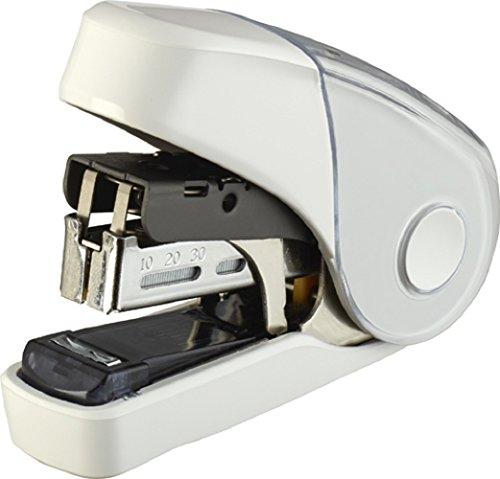 マックス ホッチキス サクリフラット 32枚とじ ホワイト HD-10FL3K/W