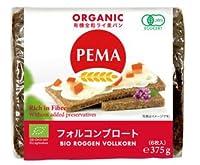 PEMA 有機全粒ライ麦パン(フォルコンブロート) 375g(6枚入) 10個セット