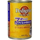 ペディグリーチャム 7歳からのダイエットSP ビーフ・野菜・魚 400g