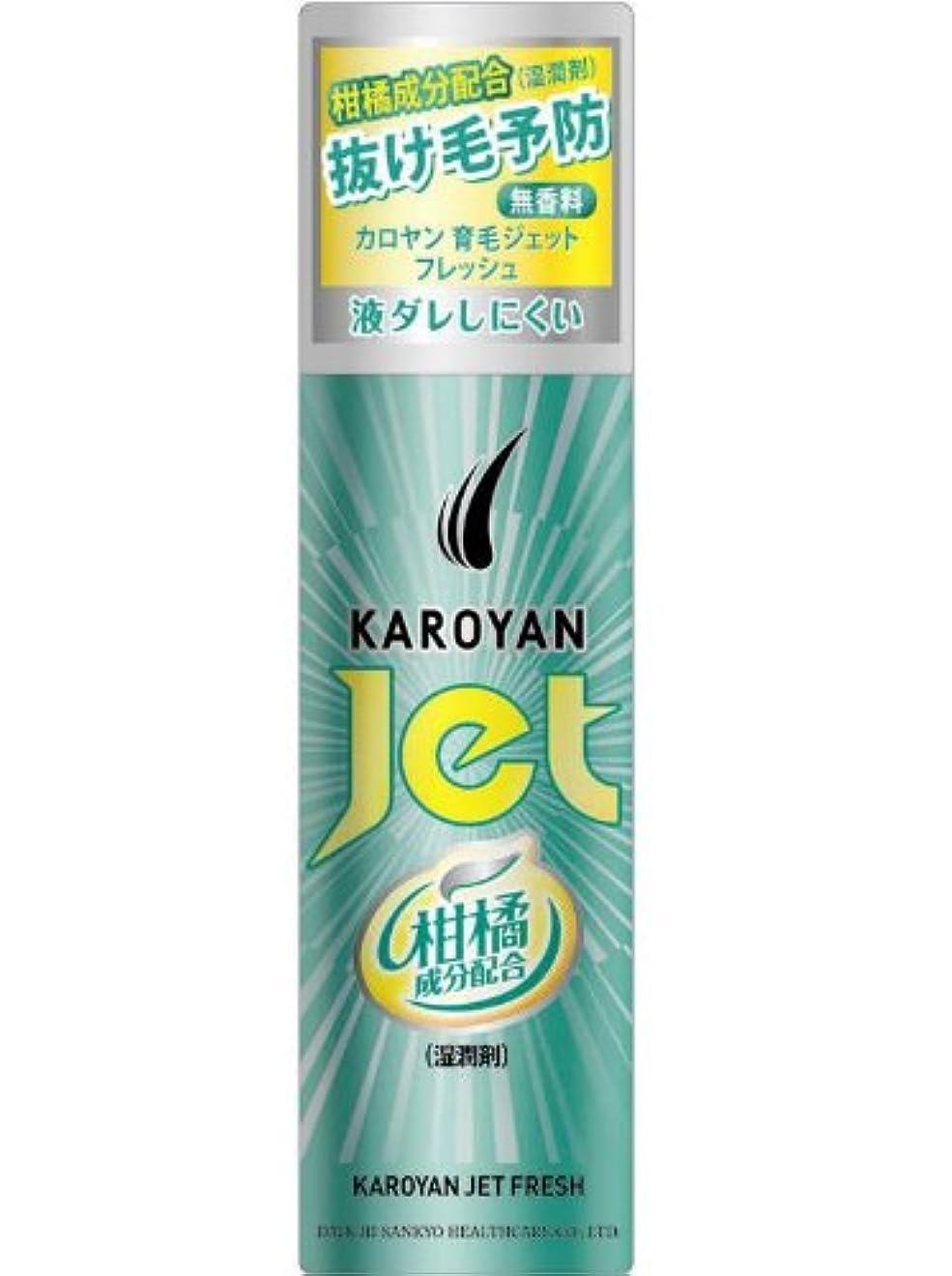夏変形記事カロヤン ジェット 無香料フレッシュ 185g 【医薬部外品】