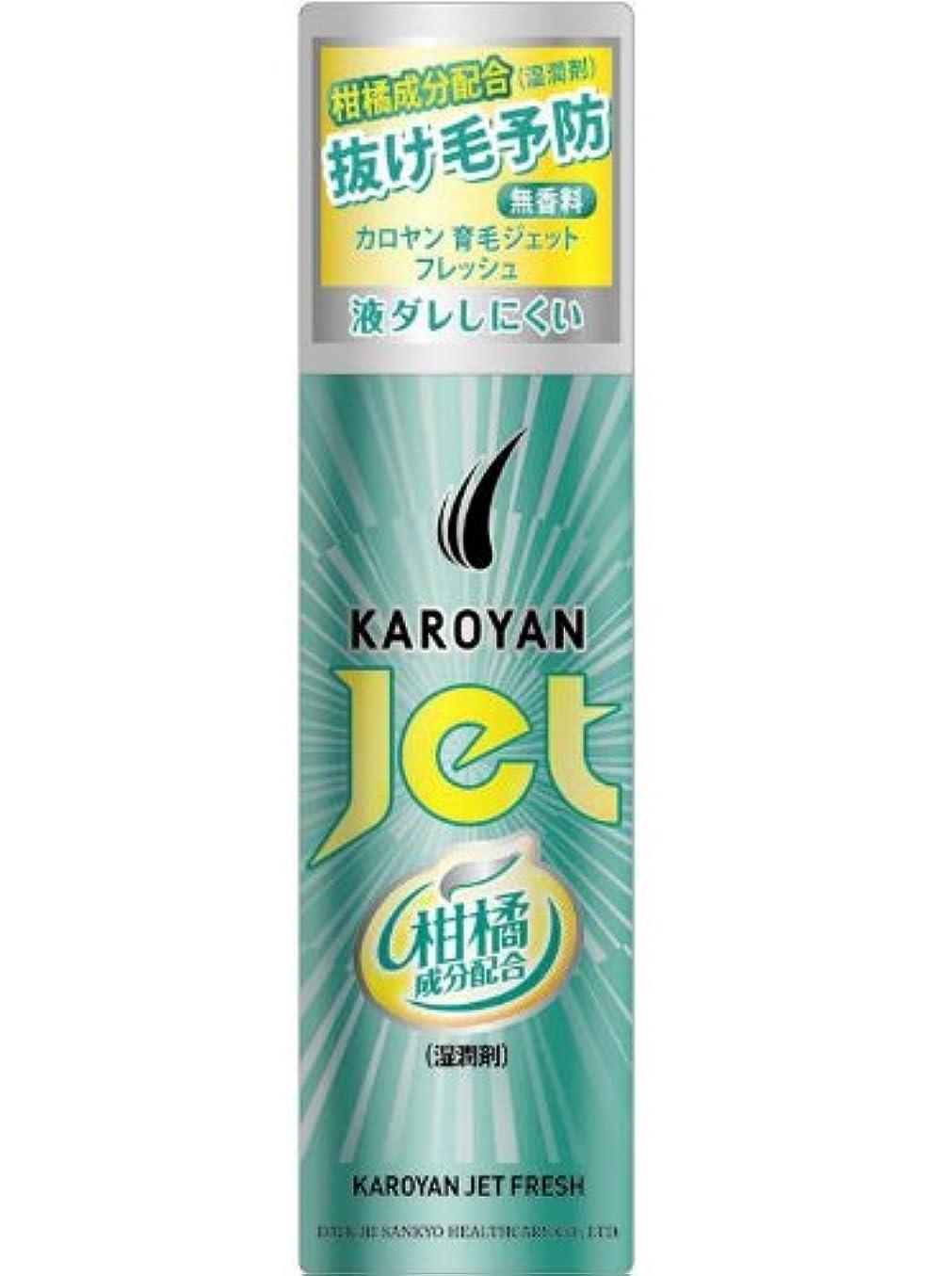 希少性嫌い実証するカロヤン ジェット 無香料フレッシュ 185g 【医薬部外品】