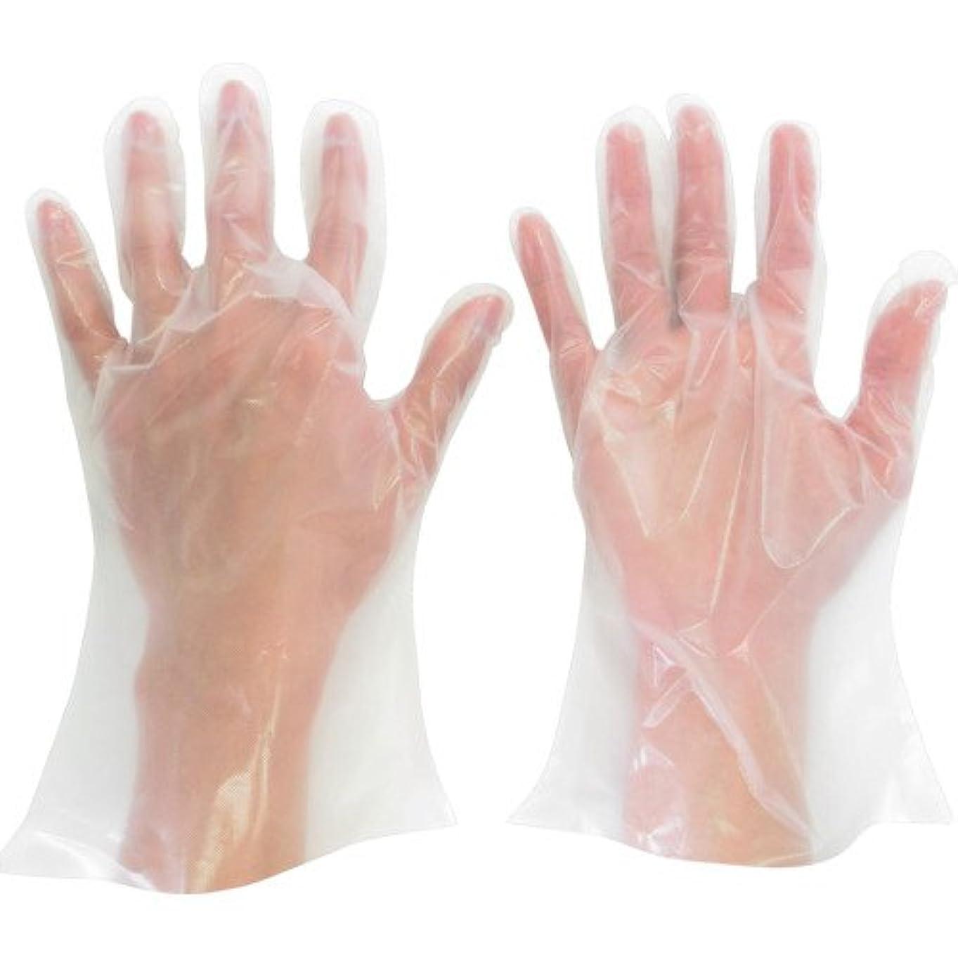 ドロー宣教師満員ミドリ安全 ポリエチレン使い捨て手袋 厚手 外エンボス 200枚入 S VERTE565NS