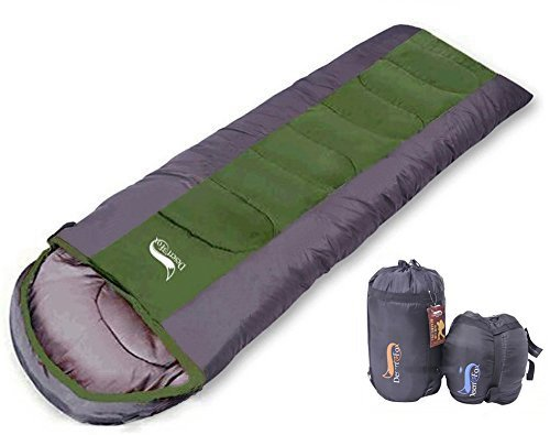寝袋 封筒型 軽量 防水 コンパクト アウトドア 登山 車中泊 丸洗い 1k...