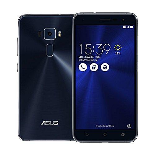 SIMフリー ASUS ZenFone 3 ZE520KL 3GB 32GB ブラック-Black 4G LTE (5.2inch/Full HD/Android 6.0/Qualcomm Snapdragon 625/2.0Ghz)ブラック 海外正規品 [並行輸入品]