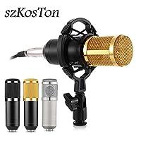 中国、シルバー:ポッドキャストコンピューター放送録音Kareoke MikrofonプロフェッショナルMicrofono用コンデンサー