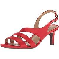 Naturalizer Women's Taimi Sandal, Papaya red