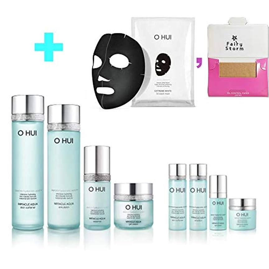 表向き素晴らしさグレード[オフィ/O HUI]韓国化粧品 LG生活健康/O HUI MIRACLE AQUA SPECIAL SET/ミラクル アクア 4種セット + [Sample Gift](海外直送品)
