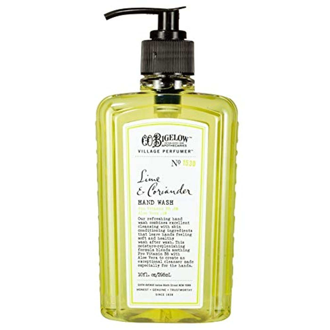 踏みつけペネロペ植木[C.O. Bigelow] C.O.ビゲローライムとコリアンダー手洗い - C.O. Bigelow Lime and Coriander Hand Wash [並行輸入品]