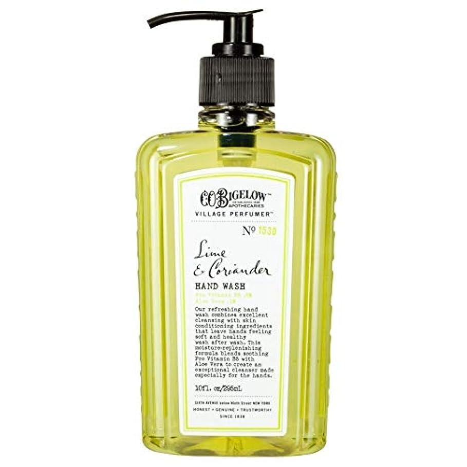 曲げる輪郭伸ばす[C.O. Bigelow] C.O.ビゲローライムとコリアンダー手洗い - C.O. Bigelow Lime and Coriander Hand Wash [並行輸入品]