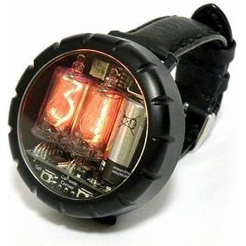ニキシー管腕時計 Nixie Tube