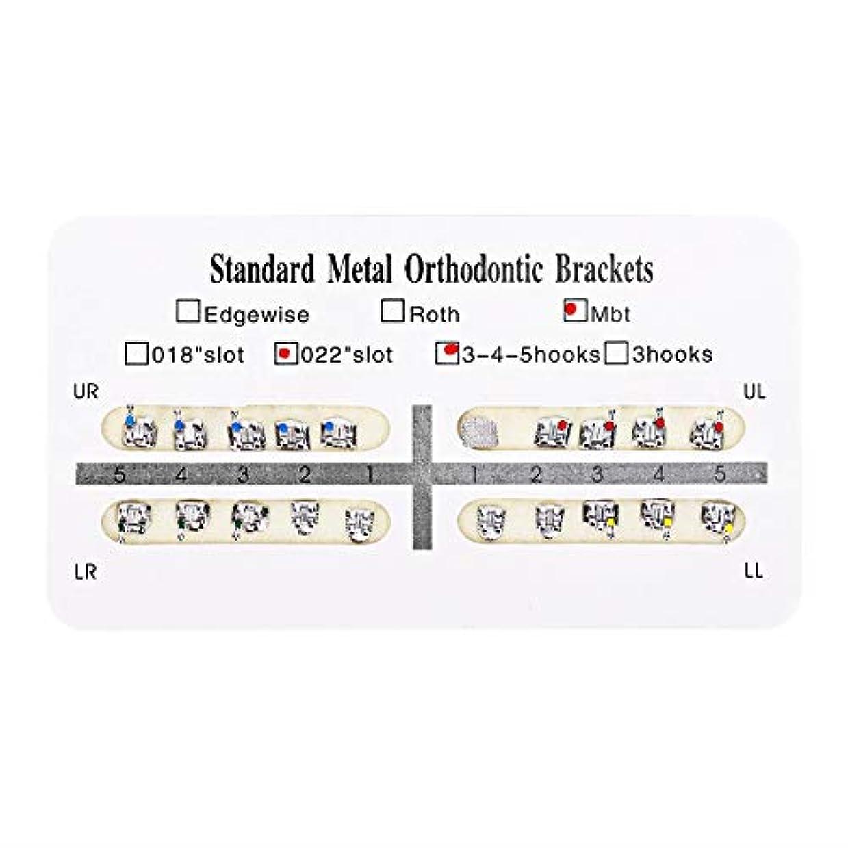 再集計モルヒネ乱闘NITRIP 10パック 歯科矯正ブラケット クリニーク歯科ツール (Mbt)
