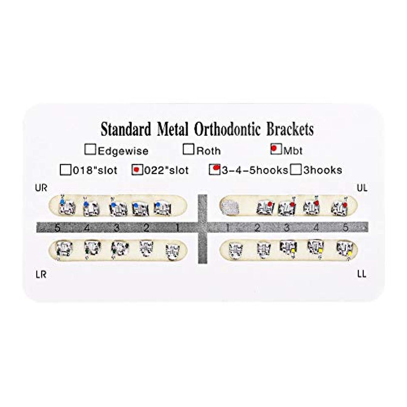 環境クレタファランクスNITRIP 10パック 歯科矯正ブラケット クリニーク歯科ツール (Mbt)