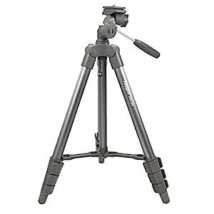 【Amazon.co.jp限定】 Fotopro 三脚  DIGI-204 GM 4段 小型 3WAY雲台 アルミ製 ガンメタリック DIGI-204GM