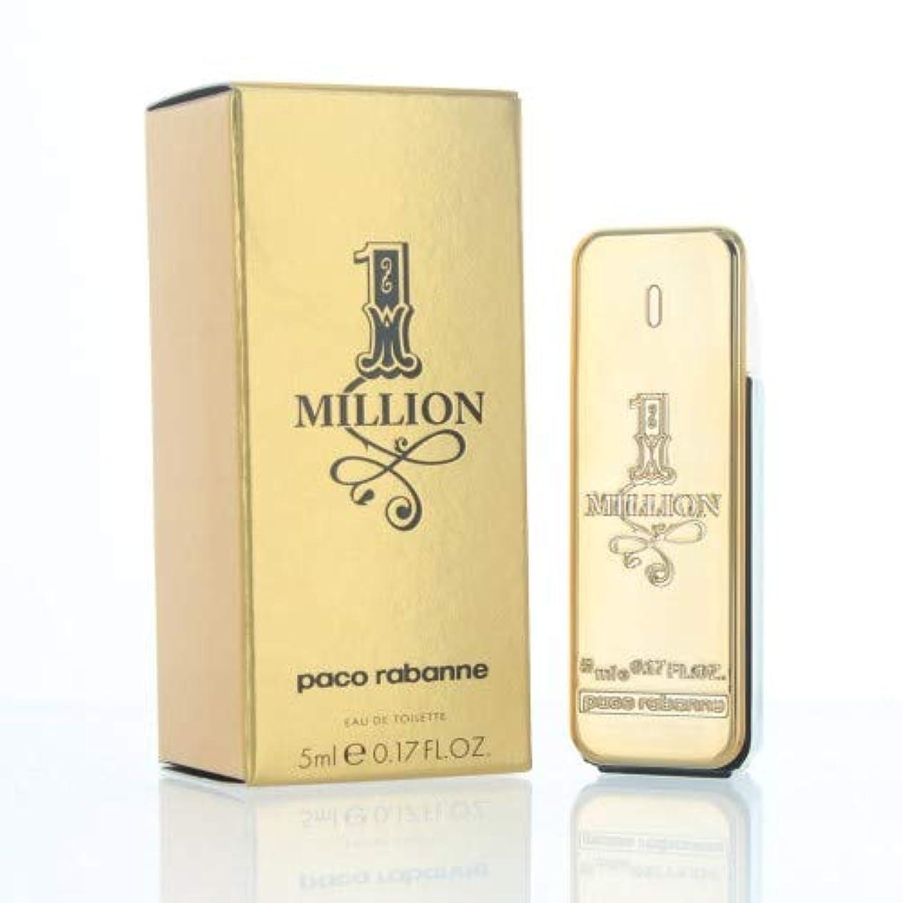 好ましいトレーニング学んだパコラバンヌ ワンミリオン EDT 5ml ミニ香水(並行輸入品)
