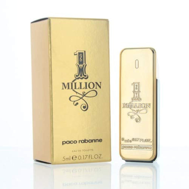 オピエートアトミックより多いパコラバンヌ ワンミリオン EDT 5ml ミニ香水(並行輸入品)