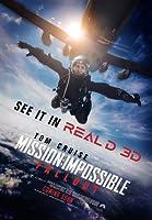 インポートポスターMission Impossible:Fallout – U.S Movie Wall Print-30CM X 43CM