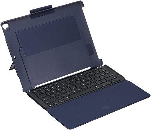 Logicool ロジクール 12.9インチ iPad Pro用 Slim Combo バックライトキーボード付ケース ブルー iK1272BLA...