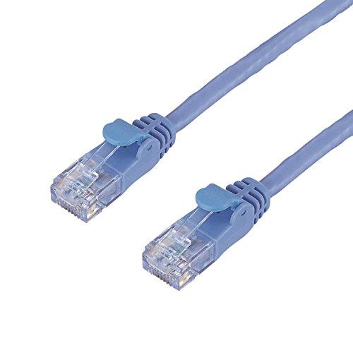 カタログ通販専用/RoHS対応LANケーブル/CAT6/簡易 LD-GP/BU15/C