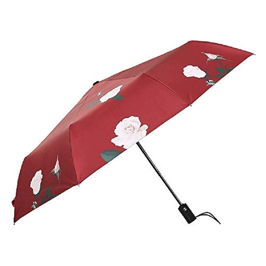 苦味検索エンジン最適化もし傘の男性と女性の雨と雨の兼用自動三つ折り傘